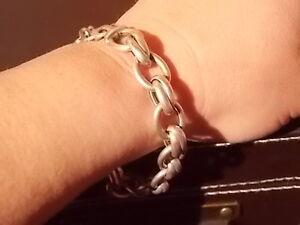 '925 Silver' Thick Bracelet Armidale Armidale City Preview