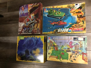 puzzle vintage gobots ghostbusters gi joe chair de poule g.i joe