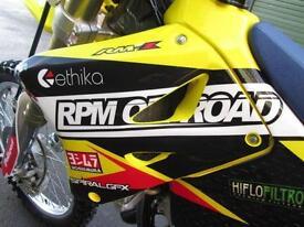 SUZUKI RM 125 K7 2007 MOTOCROSS @ RPM OFFROAD LTD