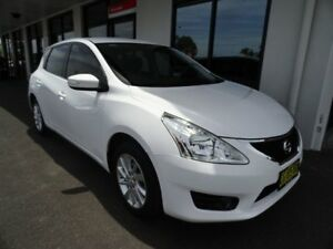 2015 Nissan Pulsar C12 Series 2 ST-L White 1 Speed Constant Variable Hatchback West Ballina Ballina Area Preview