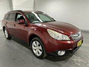 2011 Subaru Outback MY11 2.5i AWD Red Continuous Variable Wagon Beresfield Newcastle Area Preview