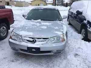 2002 Acura TL High kms   Warranty included  204 981 1129 safety