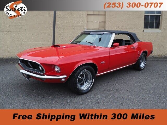 Red Ford Mustang with 78,466 Miles available now!