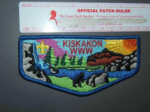 Boy Scout OA 75 Kiskakon flap 8525P