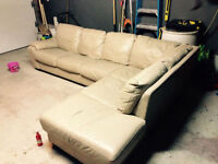 Leather Sectional Couch cheap