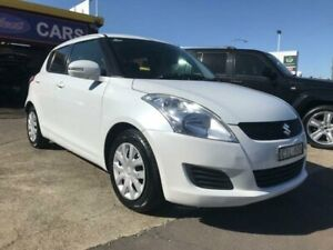 2012 Suzuki Swift FZ GL White 4 Speed Automatic Hatchback Cardiff Lake Macquarie Area Preview