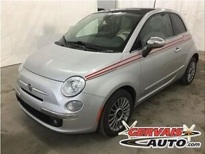 Fiat 500 Lounge Cuir Toit Panoramique MAGS 2012