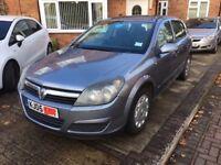 Vauxhall Astra Life 1.7CDTi Diesel Manual Hatchback 2005 (05) MOT 6+ Months CD PAS ABS Silver