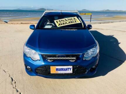 2012 Ford XR6 6cyl Auto Utility – ONLY 145***klm Bowen Whitsundays Area Preview