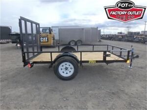 5 x 10 Single Axle Utility by Big Tex Trailers -*ALL IN PRICE!*-