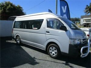 2008 Toyota HiAce TRH223R MY07 Upgrade Commuter Silver 5 Speed Manual Bus Currumbin Waters Gold Coast South Preview