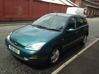 £495 FORD FOCUS 1.6 ZETEC - 10MTHS M.O.T - DRIVES GREAT