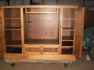 """ BIRCH ""  ENTERTAINMENT UNIT/ WALL CABINET Windsor Region Ontario image 4"
