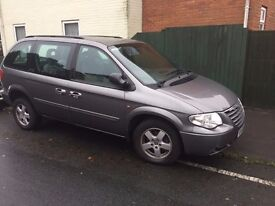 Wheelchair accessible Chrysler Voyager Executive MPV with rear lowering ramp