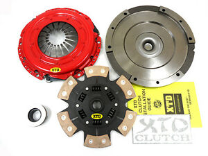 XTD STAGE 3 CERAMIC CLUTCH & FLYWHEEL KIT DODGE NEON 2.4L SRT-4 SRT4