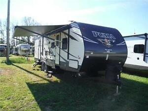 2017 Puma 31BHSS 2 bedroom Travel Trailer with Outside Kitchen