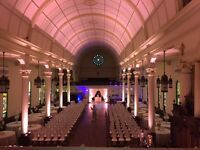 Windsor Wedding DJ Lighting Special Effects Monograms Lighting