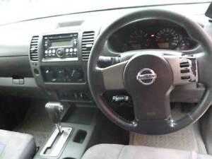 2007 NISSAN NAVARA DUAL CAB AUTO 4X4.