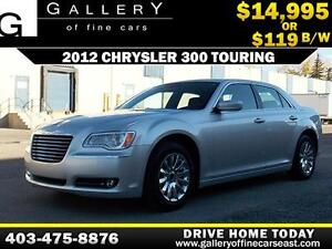 2012 Chrysler 300 V6 $119 bi-weekly APPLY NOW DRIVE NOW
