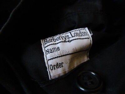 Trench burberry noir taille 44 à - 64%