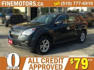 2012 CHEVROLET EQUINOX LS * EXTRA CLEAN * LOW KM * LOANS FOR ALL London Ontario image 5