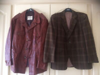 Collection of men's vintage clothing