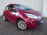 Ford Ka 1.2 Zetec, Fabulous Service History, Low Miles, Stunning Colour....Just Arrived in Stock