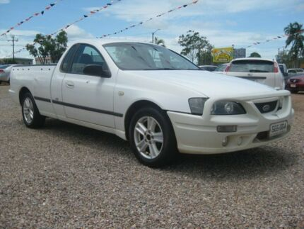 2005 Ford Falcon BA XL Super Cab White 4 Speed Automatic Utility Holtze Litchfield Area Preview