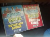 2007/08 and 2008/09 match attax cards collection