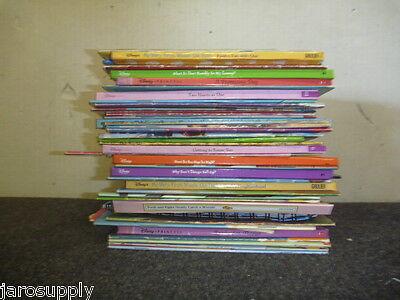 Lot of 15 Walt Disney Popular Cartoon Children Picture Kids Books - MIX UNSORTED