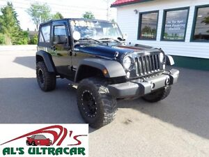 2014 Jeep Wrangler w/ Lift Kit & NAV only $212 bi-weekly all in!