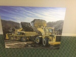 "27""x36"" Loaders in the Pit - #1 of LTD EDT Canvas"