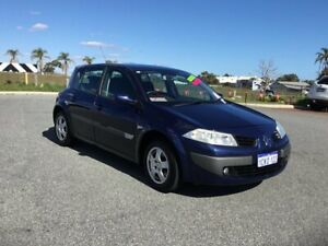 2006 Renault Megane X84 Authentique Sapphire Blue 5 Speed Manual Hatchback Wangara Wanneroo Area Preview