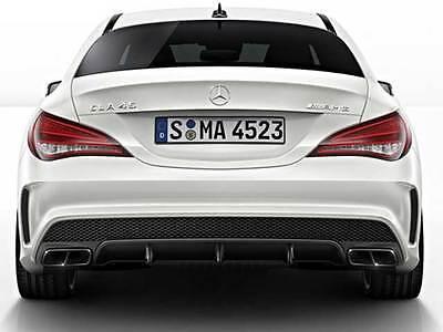 Mercedes W117 AMG CLA45 & AMG Cla Sport Heck Diffusor