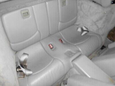 Mercedes SL R129 Kindersitze/Notsitze in grauem Leder. MOPF, Bj. 1998, komplett, gebraucht gebraucht kaufen  Seelze