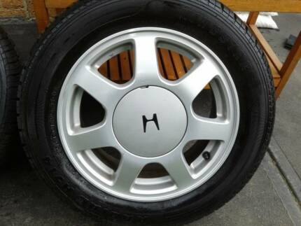 "15"" Tyres and wheels 195/60R15 Dandenong South Greater Dandenong Preview"