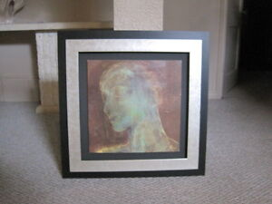 picture with three dimensional frame
