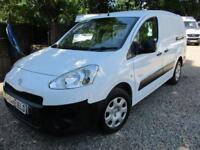 2013 Peugeot Partner 1.6HDi 5 SEATER Crew Van S L2 NO VAT 70000 MILES GUARANTEED