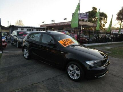 2008 BMW 118i E87 MY09 Black 6 Speed Automatic Hatchback New Lambton Newcastle Area Preview