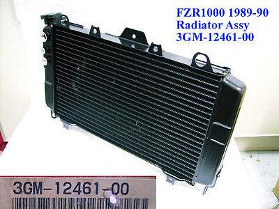 Yamaha FZR1000 Radiator Assy 1989-90 NOS FZR1000W RADIATOR COOLER 3GM-12461-00