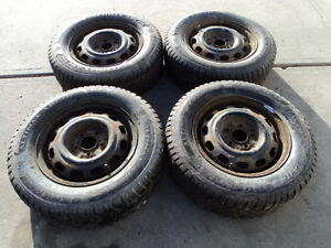 4 General Winter Tires with Rims for 1992-2006 Toyota Camry