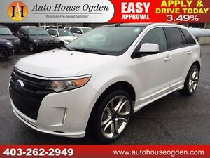 2011 FORD EDGE SPORT NAVI PANOR ROOF B CAM CALL 403 262 2949