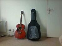 Ibanez Artwood AC240-OPN Acoustic Guitar + Strap + Case
