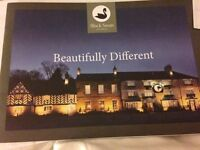 £250 Voucher for The Black Swan Hotel, Hemsley, North Yorkshire, YO62 5BJ