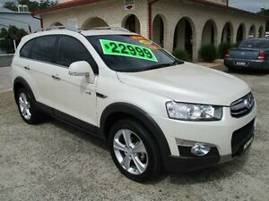 2012 Holden Captiva CG Series II 7 LX (4x4) Pearl White 6 Speed Automatic Wagon South Nowra Nowra-Bomaderry Preview