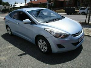 2011 Hyundai Elantra MD Active Blue 6 Speed Sports Automatic Sedan West Perth Perth City Area Preview
