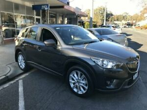 2013 Mazda CX-5 MY13 Akera (4x4) Meteor Grey 6 Speed Automatic Wagon Wangaratta Wangaratta Area Preview