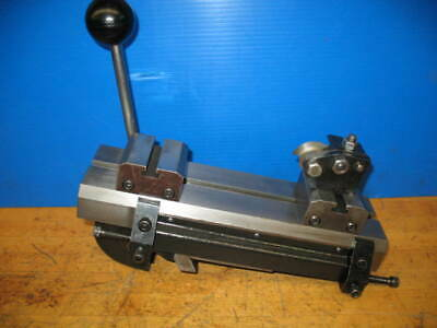 Hardinge Model E Double Tool Quick Cross Slide Wriser Blocks Dv-59 Dsm-59