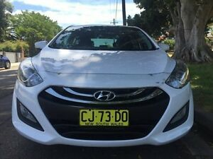 2014 Hyundai i30 GD MY14 Premium White 6 Speed Sports Automatic Hatchback Croydon Burwood Area Preview