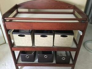 Excellent Condition Caramina Change Table From West Coast-Solid